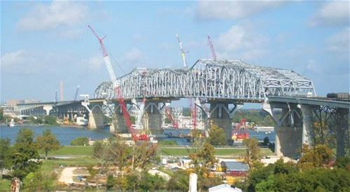 3 Truss Bridge - Huey P Long